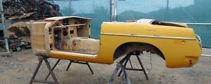 1977 Mgb Roadster Tub Shell stripped Bare nice Clean Shape Original solid S