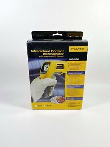 Fluke 568 Ir Handheld Thermometer Infrared With Graphical Lcd Display