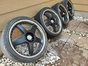 19 5x114 3 Racing Hart Cxr Cx R Wheels Jdm Bbs Volk Ssr Work Advan Multi Piece