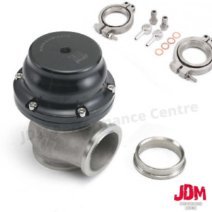 44mm Tial Style Mvr44 Wastegate W V Band Flanges With All Psi Springs Black