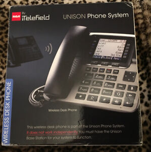 Telefield By Rca Unison Phone System Wireless Desk Phone U1100 Expandable