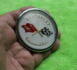 1953 1954 1955 Corvette Front Emblem Reproduction