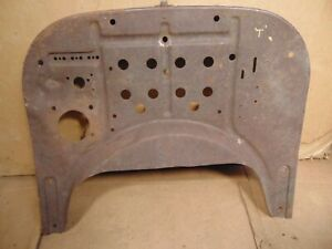 1917 1920 1923 Era Model T Ford Low Firewall Original Patina As Found