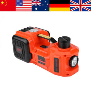 New 5ton 12v Dc Automotive Car Electric Hydraulic Floor Jack Lift Garage Equipme