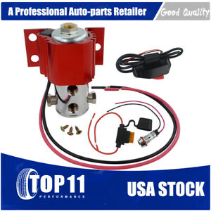 Front Brake Line Lock Hill Holder Kit Electric Roll Control Solenoid With Switch