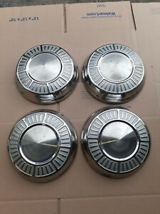 4 Chrysler Mopar Dodge plymouth 10 Dog Dish Hubcaps