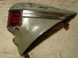 1937 Cadillac Complete R Taillight Assembly W Lens Trim And Reflector Jewel