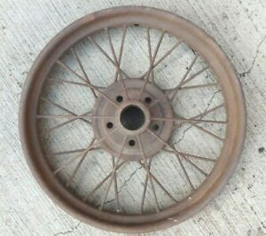 1926 1927 Model T Ford 21 Inch Wire Spoke Wheel Original 5 Lug 6