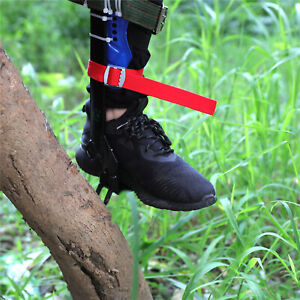 Tree pole Climbing Spike Set Safety Belt Strap Rope Adjustable Stainless Steel