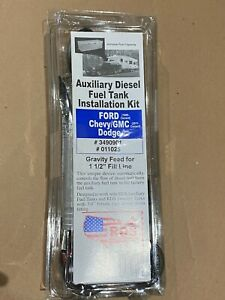 Rds 11025 Diesel Install Kit Auxiliary Transfer Fuel Tanks Ford Chevy Dodge