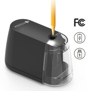 Automatic Electric Pencil Sharpener Battery Operated For Kids Home School Office
