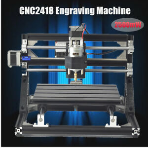 2500mw 3 Axis Cnc Router Pcb 2418 Wood Carving Engraving P Q Z