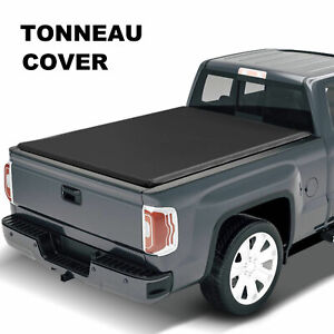 Fit Nissan Frontier Extra Short Bed Truck 5ft Tri fold Soft Tonneau Cover 05 19