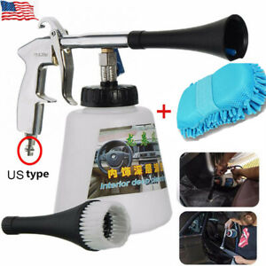 Car Cleaning Gun Interior Detailing Surface Jet High Pressure Cleaner Tool Kit
