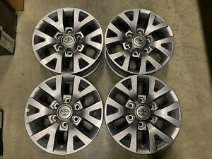 Four 2019 Toyota Tacoma 4wd Factory 16 Wheels Tundra Sequoia 4runner 75190 Oem