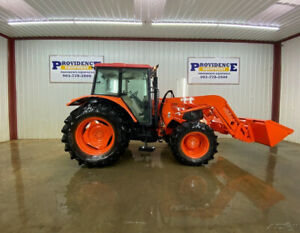 Kubota M100x Tractor With A c And Heat 4wd