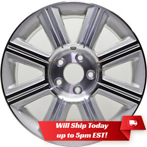 New 17 Machined Silver Alloy Wheel Rim For 2007 2008 2009 Lincoln Mkz 3656