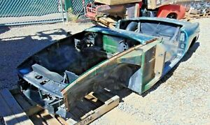 1978 Mgb Roadster Tub Shell stripped Bare nice Clean Shape rustfree solid C2