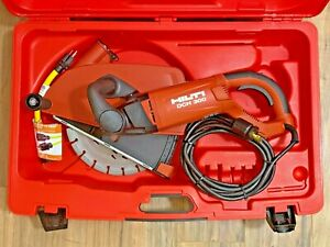 Hilti Dch 300 Electric Diamond Cutter Preowned Concrete Cutoff Saw