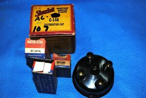 Nors 1946 47 48 49 50 51 52 53 Willys Henry J Dist Cap Rotor Pts Cond