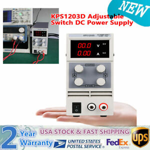 Kps1203d Adjustable Switch Dc Power Supply Output Ac110v For Test Steady Work