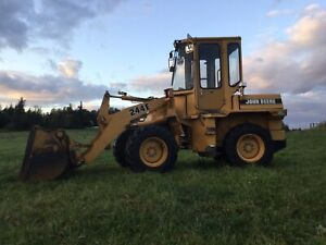 John Deere 244e Wheel Loader