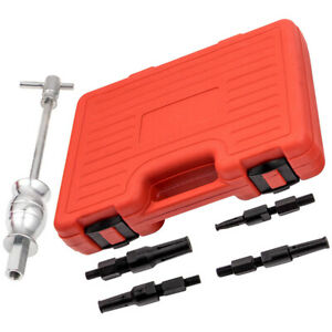 Blind Hole Pilot Bushes Bearing Gear Puller Slide Hammer Removal Tool Kit