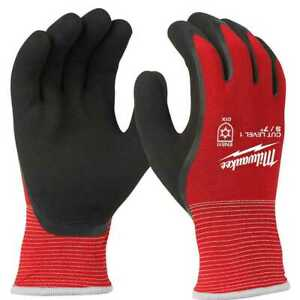 Milwaukee 48 22 8910 Cut Level 1 Winter Insulated Gloves Small New