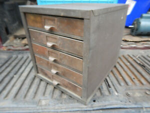 Vintage Kennedy Parts Cabinet From A Machine Shop