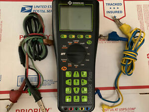 Greenlee Sidekick Plus Advanced Cable Test Set Tester