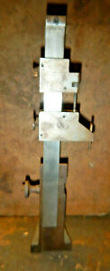 Older Height Gage Gauge With Scale Rule Holder Machinist Measuring Tool