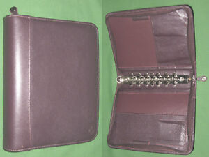 Classic 1 5 Brown Top Grain Leather Franklin Covey Planner Binder 4276
