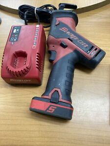 Snap On Ctrs761 Reciprocating Saw Red W Battery Charger