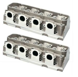 Pair 2 Trick Flow Powerport A460 Cylinder Heads For Ford 429 460 Tfs 6049 A460