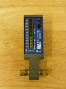 Supco Vg60 Electronic Vacuum Gauge 50 To 5 000 Micron Led