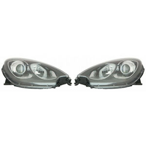 For Porsche Macan Headlight 2015 2018 Pair Lh And Rh Side For Po2502132