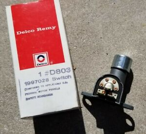 Nos Delco Gm Dimmer Switch 1960 1970 Corvette Chevy Ii Impala Truck Van Olds