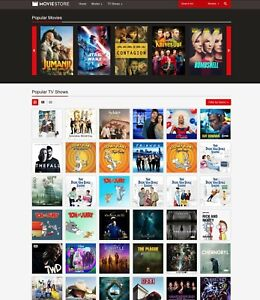 Movies Tv Shows Store Website amazon Itunes Affiliate Free Hosting