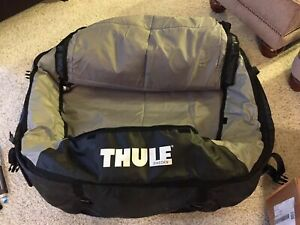 Thule Tahoe Rooftop Cargo Carrier 867 Versatile Adjustable Excellent Condition