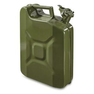 U S Military Style Reproduction Jerry Can 10 Liter 2 5 Gallon New