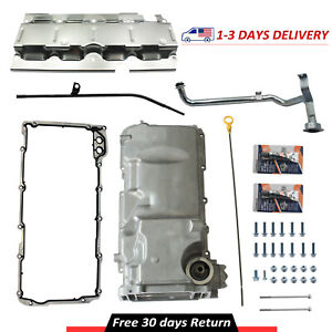 Muscle Car Engine Oil Pan Kit For Chevy Gm Performance Ls1 Ls3 Lsa Lsx 19212593