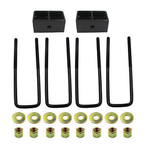 6kg 3 Rear Leveling Kit Fits 99 20 Chevy Silverado 1500 Gmc Sierra 1500 5 3l