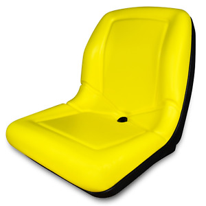 Yellow High Back Replacement Seat For John Deere Gator For Pn Vg11696
