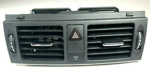 2008 2011 Mercedes C300 C350 Center Dash Vent Ac Air Vents Grill Black Mint W204