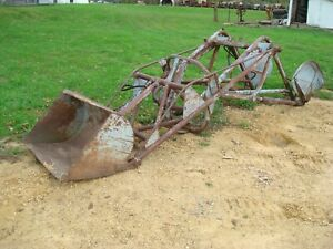 1950 Ferguson To20 Tractor Wagner Front End Loader To30