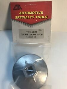 Cta Oil Filter Wrench 2464 74mmx14 1 2 Drive Vw Audi And More Ships Free