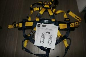 Dbi Sala 1102201 Full Body Safety Harness Fall Arrest System I safe Small New