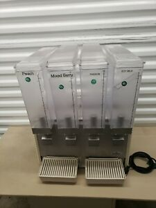 Pre owned Crathco E47 49 4 Quad Drink Dispenser 799 Obo