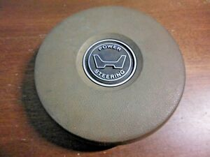 1981 Honda Accord Horn Pad Cap