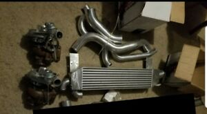 Twin Turbo Kit Never Used Original Bought For 1994 Mustang Gt